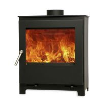 The Woodford 5 Widescreen Wood Burning DEFRA Approved Stove