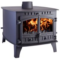Hunter Herald 14 Double Sided Double Depth Flat Top Multifuel Stove