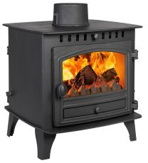 Hunter Herald 6 Double Sided Single Depth Flat Top Multi Fuel Stove