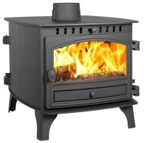 Hunter Herald 8 Double Sided Double Depth Flat Top Multi Fuel Stove