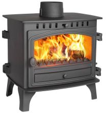 Hunter Herald 8 Double Sided Single Depth Flat Top Multi Fuel Stove