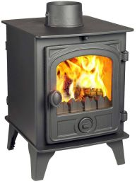 Hunter Hawk 4 Double Sided Single Depth Multi Fuel Stove