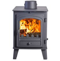 Parkray Consort 4 Double-Sided Double Depth Multi Fuel Stove