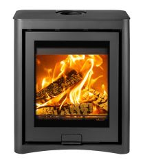 Di Lusso Eco R5 Cube DEFRA Approved Wood Burning Stove