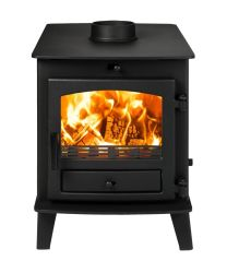 Avalon 4 Double Sided Double Depth DEFRA Approved Multi Fuel Stove