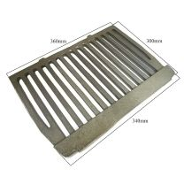 "16"" Dunsley Enterprise Cast Iron Fire Flat Grate Back Boiler"