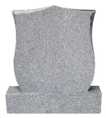 Flame 53 Tulip Diamond Top Headstone + Base