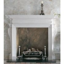 Flaxman Chesney Limestone Fireplace Surround