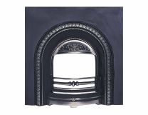 Lombard Arch Cast Iron Insert Back Panel