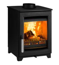 Parkray Aspect 4 Double-sided Single Depth Wood Burning Stove