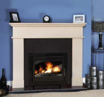 Pisa / Kos Marble Fireplace Perla White