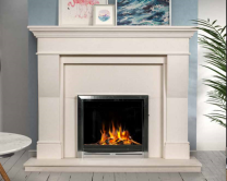 The Estada Limestone Fireplace Surround