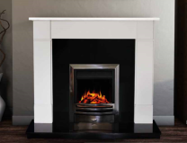 The Naxos Limestone Fireplace Surround