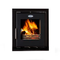 Waterford Stanley Cara Glass 6.5kw Insert Multi Fuel Stove