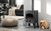 Dru 44 Cast Iron Multi Fuel / Wood Burning Stove