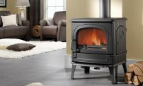 Dru 64 Cast Iron Multi Fuel / Wood Burning Stove