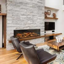 Evonic e1500GF Electric Inset Built In Mounted Electric Fire - Single Side SALE SALE