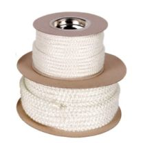 12mm Heat Resistant Stove Fire Rope White - Per Metre