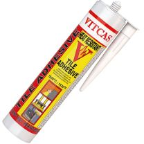 Heat Resistant Tile Adhesive Cartridge - 1000 Degrees