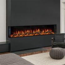 Evonic Karlstrad Built In Wall Mounted Electric Fire
