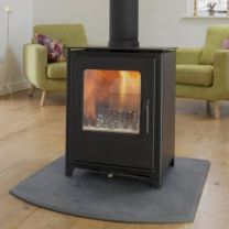 Mendip Loxton 8 Double Sided  DEFRA Approved Multi Fuel Stove