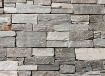 Scandinavian Grey Heavy Stone Cladding Panel System Interior Exterior 1m2