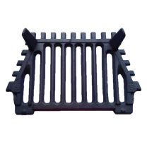 "18"" Queenstar Fire Bottom Grate - 2 Legs"