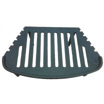 "16"" Mourne / Tulip Cast Iron Bottom Fire Grate High Leg"