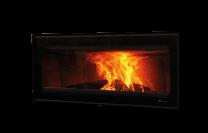 Dik Geurts Vision 100 DEFRA Approved Wood Burning Cassette Stove