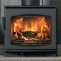 ACR Wychwood 5kW DEFRA Approved Wood Burning Log Burner Stove Sterling Grey SALE SALE