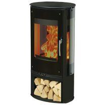 Henley Zanzibar Infinity 3 Sided Glass Wood Burning Stove SALE SALE