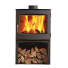 Dik Geurts Ivar 8 Logstore DEFRA Approved  Wood Burning Stove