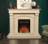 The Bridge Marble Fireplace Suite Ivory Cream