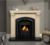 The Roma Marble Fireplace Surround Ivory Cream